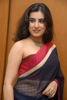 Archana Veda Latest Stills In Blue Saree
