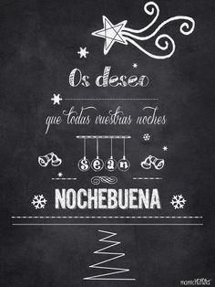 Imágenes de tarjetas con frases, mensajes y felicitaciones de Noche Buena y Navidad | Imágenes Totales