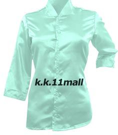 Designer Fancy Shirt 3/4 Sleeve Shirt Casual Wear Satin New 2020 Bliss Color S91 #Unbranded #Basic #Casual Satin Shirt, Special Girl, Satin Fabric, Shirt Sleeves, Party Wear, Casual Wear, Casual Shirts, Bliss, Chef Jackets