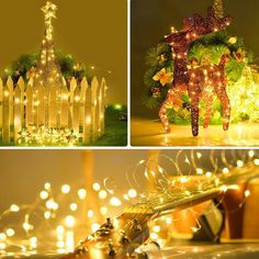HIGHT quality: 20FT extra thin string with bright high quality 60pcs micro LED Starry Lights, Color Temperature 2700-2900K Warm White, LED lights can last 50,000hours under regular using. #fairylights #stringlights #dukoraidea