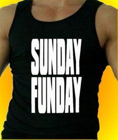 Sunday Funday Tank Top Men's