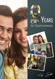 9 years of Wedding Anniversary of MS Dhoni and Sakshi Dhoni. Gifts For Campers, Camping Gifts, Anniversary Quotes, Wedding Anniversary, History Of Cricket, Dhoni Quotes, Ms Dhoni Photos, Ms Dhoni Wallpapers, Cricket Sport
