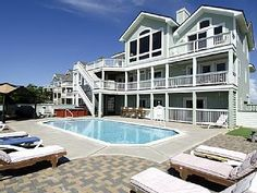 Oceanfront Luxury With 6 Master Bedrooms, Private Pool, Hot Tub