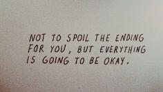good advice for anyone, really.