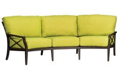 Andover Cushion Crescent Sofa #patiofurniture
