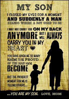 Son Quotes From Mom, Mother Son Quotes, Mothers Love Quotes, My Children Quotes, Mom Quotes, Quotes For Kids, Life Quotes, Change Quotes, Family Quotes