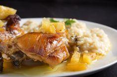 Hawaiian Chicken - The Family Dinner Project Hawaiian Dishes, Hawaiian Chicken, Lemon Chicken Stir Fry, Crockpot Recipes, Chicken Recipes, Frango Chicken, Chicken Bites, Gluten Free Chicken, Easy Cooking