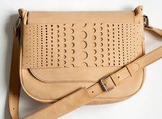 Leather bag Women leather bag Beige suede bag door dariapugach