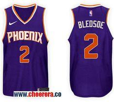 52f6df48e21 Men's Nike NBA Phoenix Suns #2 Eric Bledsoe Jersey 2017-18 New Season Purple  Jersey