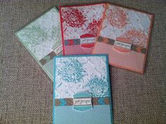 Stampin Sunshine: Pals Card Convention Card Swap