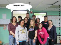 Stylus Staff Spring 2011, missing Will