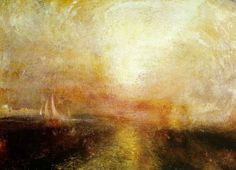 """Yacht approaching the Coast"" - JMW Turner"