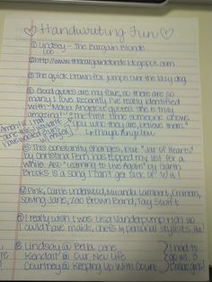 cute handwritten letters - Google Search