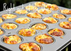 Care's Kitchen: Mini Bisquick Quiches with Bacon, Onion & Cheese...Heading to Happy Valley!