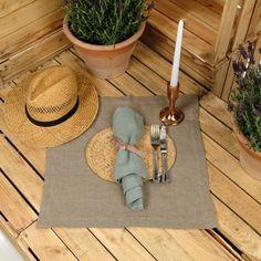 Oversized Linen Napkins - Set of 4