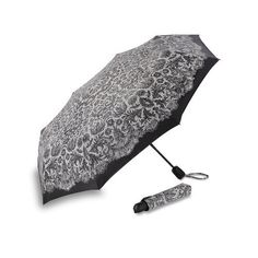 Knirps Luggage Essentials Umbrella, Lace White, Large Knirps. $39.00. Push-button auto open-close. Length closed: 11.5 inch. 100% Polyester. Hand Wash. Canopy diameter - 39 inch