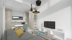 Attefallshus 25 kvm med loft. | MittModulhus Zen, Building A Cabin, Loft, Flat Screen, House, Inspiration, Home, Pretty, Blood Plasma
