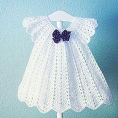 Hello Crochey Friends You Already Have - Diy Crafts Crochet Dress Girl, Crochet Baby Dress Pattern, Black Crochet Dress, Baby Girl Dress Patterns, Baby Girl Crochet, Crochet Baby Clothes, Baby Girl Dresses, Crochet For Kids, Baby Patterns