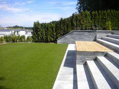 Contemporary high rise yard Sidewalk, Yard, Contemporary, Patio, Side Walkway, Walkway, Courtyards, Walkways, Garden