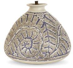 Grand vase piriforme par Mougin and Géo Condé