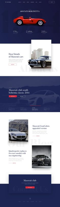 Automotive Web Design - #automotivetemplatewordpress #wordpressthemescars