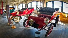 Model T's at Ford Piquette Plant, Piquette Ave in Detroit