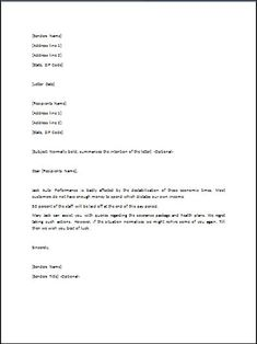 Refusal letter is mostly used to refuse an appointment of new job or sample layoff letter stopboris Gallery