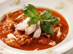 Meksikansk tomatsuppe med kylling