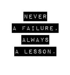 a lesson.