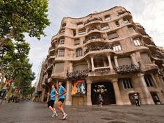 LEARN AND LIVE the streets of Barcelona by running through it! What better way to learn about this beautiful city! This guided tour will get you familiar with  La Pedrera, Casa Batlló, Sagrada Familia, Palau de la Música. Magic mountain of Montjuich , Diagonal Avenue, Ciutadella Park, and Parc Guell. RUN4REAL! Do what you love! Parc Guell, Barcelona, La Pedrera, Tour Guide, Mountain, Street View, Sporty, Tours, Urban