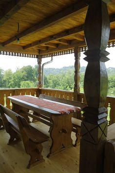 Gazebo, Pergola, Old Houses, Romania, Outdoor Structures, Traditional, Country, Interior, Wood
