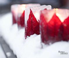 Ice Luminarias