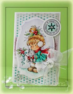 Berry Thanks by Beate - Cards and Paper Crafts at Splitcoaststampers