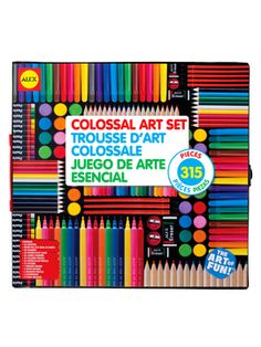 Colossal Art Set from Arts & Crafts for Your Pint-Sized Picasso on Gilt