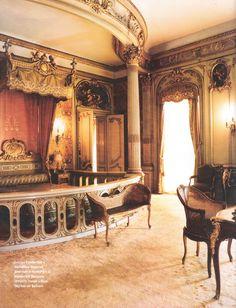 Louis Vanderbilt's bedroom Hyde Park's Vanderbilt Mansion