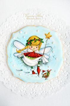 Christmas fairy cookie by Alina Vaganova