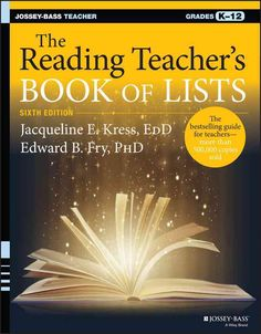 The essential handbook for reading teachers, now aligned with the Common Core The Reading Teacher's Book of Lists is the definitive instructional resource for anyone who teaches reading or works in a