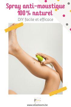 """Voici une recette d'anti-moustique très facile à réaliser. 100% naturel, ce spray """"maison"""" contre les nuisibles n'est pas nocif pour la santé. Composé d'huiles essentielles, c'est un répulsif ultra efficace qui en plus peut s'emporter partout, y compris en voyage. Ne convient pas pour les femmes enceintes et les enfants de moins de 6 ans. #répulsif #moustique #piqûre #spray #maison #naturel Coin, Craft, Health, Blog, Real Simple, Homemade Beauty Products, Creative Crafts, Health Care, Crafting"""