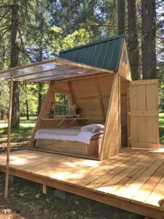 A body cabins Star A-Body Tiny Cabin, Cedar Bloom, OR: 13 Hipcamper opinions and 56 pictures A Frame Cabin, A Frame House, Outdoor Lounge, Outdoor Living, Shed Design, House Design, Tyni House, House Floor, Small Backyard Design