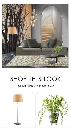 """Trompe L'oeil Murals"" by ollie-and-me ❤ liked on Polyvore featuring interior, interiors, interior design, home, home decor, interior decorating, Carmella, Otö, Holtkoetter and LSA International"