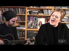 Adele: NPR Music Tiny Desk Concert - YouTube