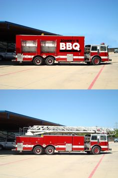 Hot Side Business: Fire engine converted to a food truck | Shared by LION