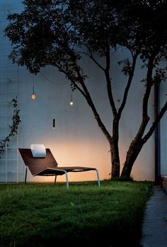 LED outdoor lighting garden relax Chair rattan pendant lamp