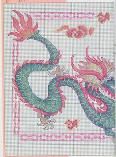 red green dragon 1/2