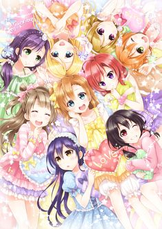Love Live! ♡ Very cute, but it will never beat the magic of K-ON!. Still very adorable, though!