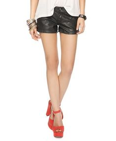 Can a mom wear leather shorts? I think yes....to soccer...