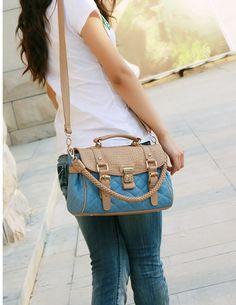 14.96 Korea New Stylish Retro Hasp Shoulder Bag