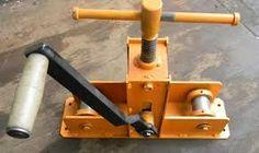 Resultado de imagem para roladora de tubos casera