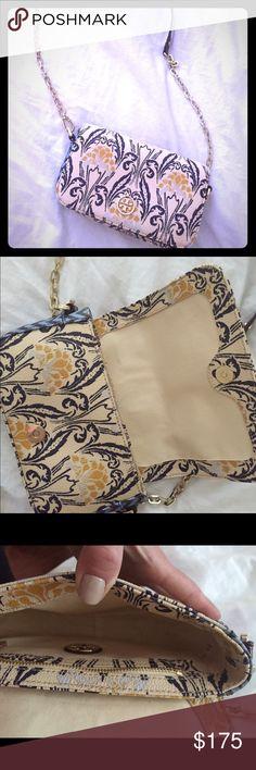 Tory burch Tory burch! So sweet. I just never wear it! Tory Burch Bags Crossbody Bags