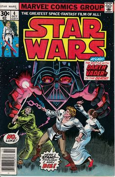 Star Wars 4 October 1977 Issue Marvel Comics by ViewObscura
